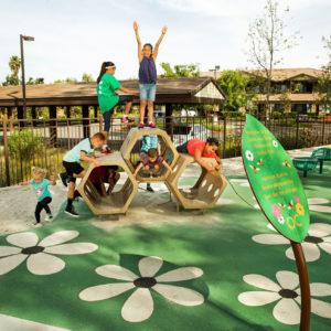 Natural Playground Located Along Greenway in Santa Ana, California gallery thumbnail